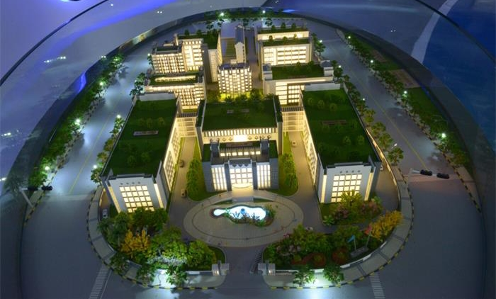 Ganjiang Research Park sand table